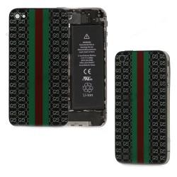 iPhone 4S Bakstycke Gaucci (Svart)