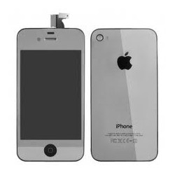iPhone 4 Digitizer/Bakstycke Kit (Silver)