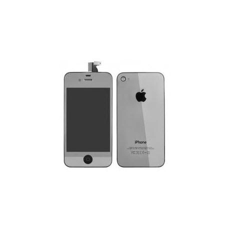 iPhone 4 Digitizer/Bakstycke Kit (Silver)