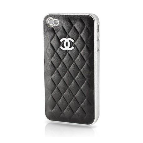 iPhone 4/4S Chanel Elegant (Svart)