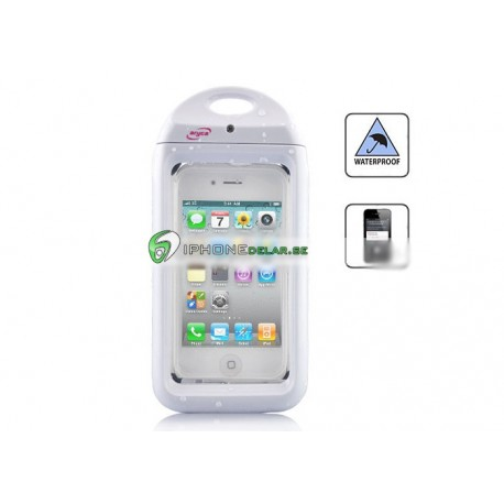 iPhone 4/4S Aryca Vattentåligt Skal (Vit)