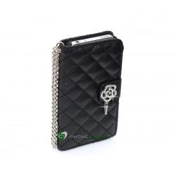 iPhone 4/4S Plånbok Luxure (Svart)