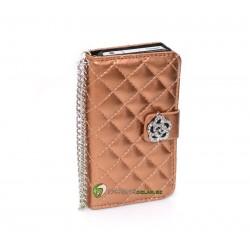 iPhone 4/4S Plånbok Luxure (Guld)