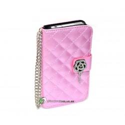 iPhone 4/4S Plånbok Luxure (Rosa)