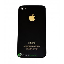 iPhone 4S Bakstycke Gold Logo (Text)