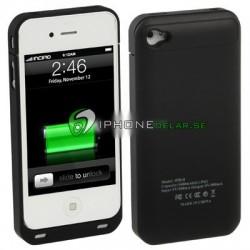 iPhone 4/4S Batteri Skal med FM Radio