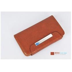 iPhone 4/4S Kalaideng Leather (Brun)
