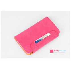 iPhone 4/4S Kalaideng Leather (Rosa)