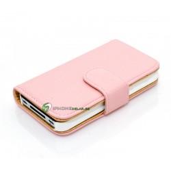 iPhone 4/4S Plånbok Monteneo (Rosa)