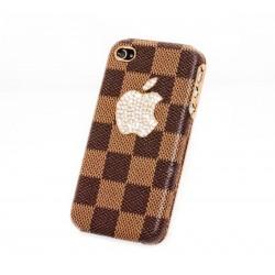 iPhone 4/4S Big Apple LV (Brun)
