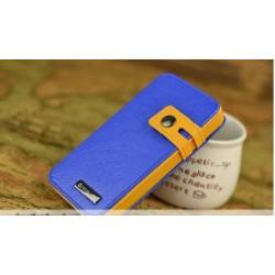 iPhone 4/4S Plånbok Zeus (Blå)
