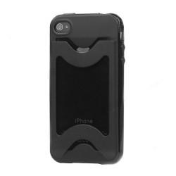 iPhone 4/4S Soft Credit Card (Svart)