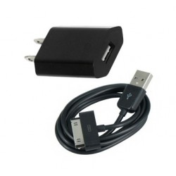iPhone iPod iPad USB-laddare (Svart)