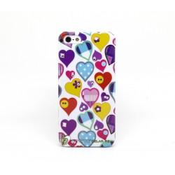 iPhone 5 Skal Hearts (Colors)