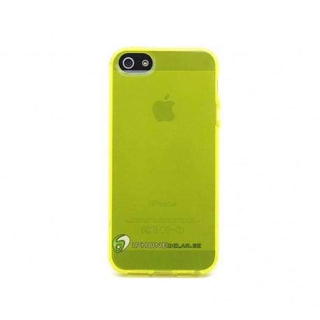 iPhone 5 Skal Silikon (Lila)