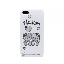 iPhone 5 Skal Hello Kitty (Silver)