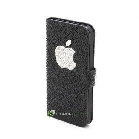 iPhone 5 Plånbok Diamond Apple (Svart)