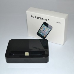 iPhone 5 Docka (Svart)