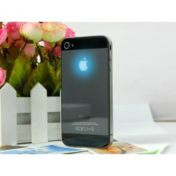 iPhone 4S Apple Led Logo iP5 Look (Svart)