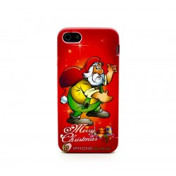 iPhone 5 Skal Jul Tomte (Röd)
