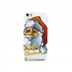 iPhone 5 Skal Jul Tomte (Vit)