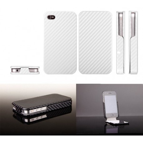 iPhone 4 Skin Fodral Silver