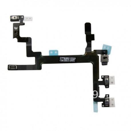 iPhone 5 Power Mute Volym Flex Kabel