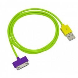 iPhone USB Kabel (Grön)