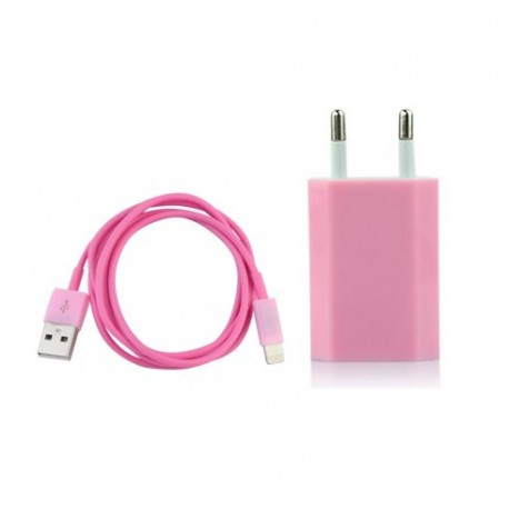 iPhone 5 USB-laddare (Rosa)