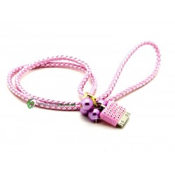 iPhone Halsband Pearl (Rosa)