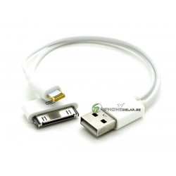 iPhone Lightning-USB-30pin Kontakt