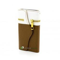 iPhone 5 Plånbok The Wallet (Brun)