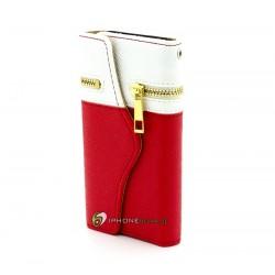 iPhone 5 Plånbok The Wallet (Röd)