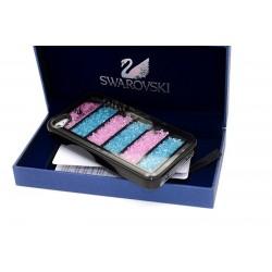 iPhone 4/4S Skal Swarovski (Svart)