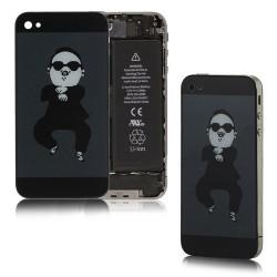 iPhone 4 Bakstycke Gangnam Style (Svart)