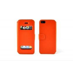 iPhone 5 Plånbok Wizz (Brun)