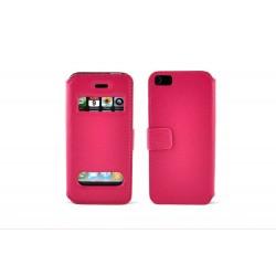 iPhone 4/4S Plånbok Wizz (Rosa)