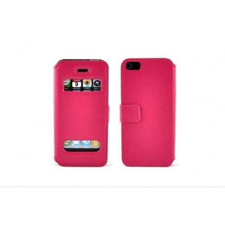 iPhone 5 Plånbok Wizz (Rosa)