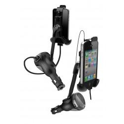 iPhone Bilhållare FM/USB/Handsfree