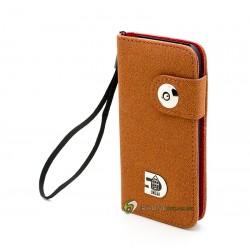 iPhone 5 Plånbok Undar (Brun)