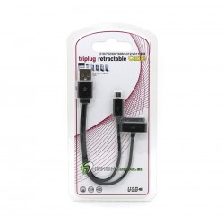 iPhone Laddkabel USB-30pin-Micro USB