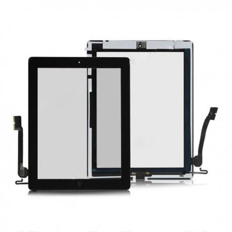 iPad 4 Glasskärm Touch Digitizer (Svart)