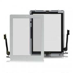 iPad 4 Glasskärm Touch Digitizer (Vit)