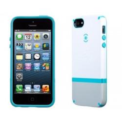 iPhone 5 Skal Speck CandyShell (Vit/Blå)
