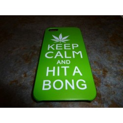 iPhone 5 Skal Keep Calm Hit a Bong