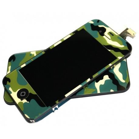 iPhone 4S Digitizer/Bakstycke Kit (Camo)