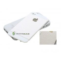 iPhone 4S Bakstycke Crocodile Vit (Vit BT)
