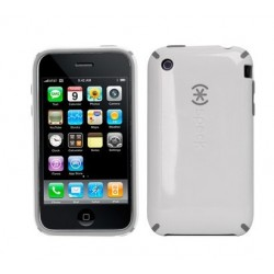 iPhone 3G/3GS Skal Candy Shell (Vit/Svart)