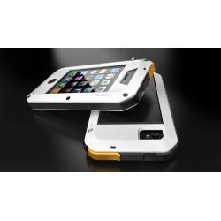 iPhone 4/4S Skal Lunatik Taktik Extreme (Vit)
