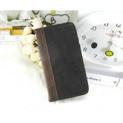 iPhone 5 BookBook Läder (Svart)